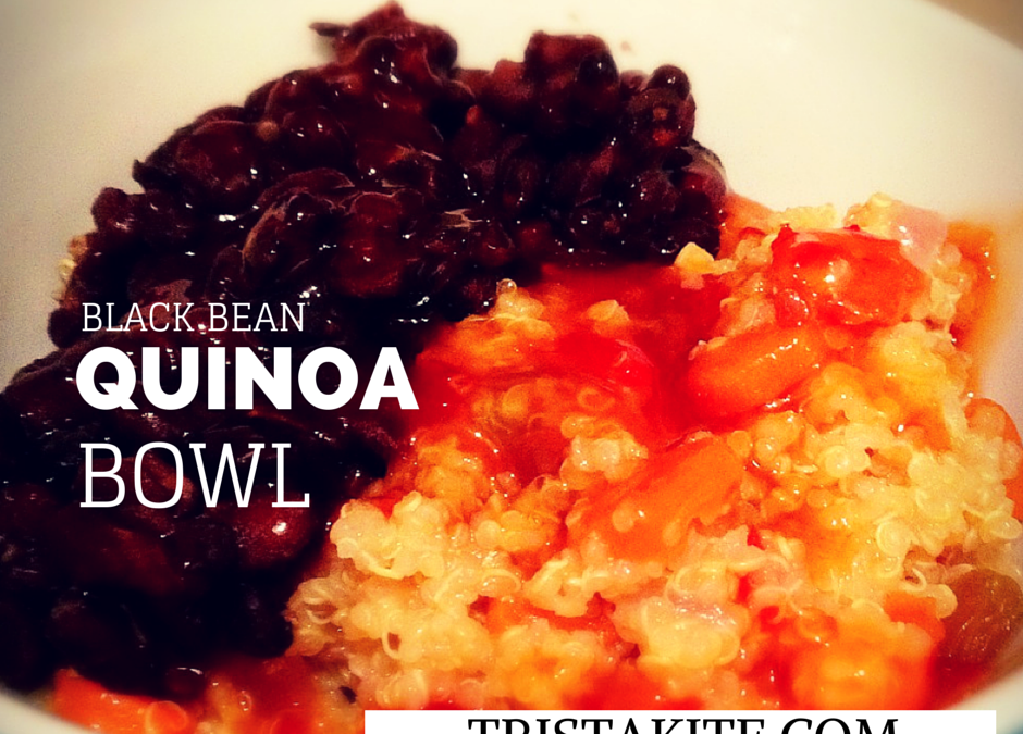 Black Bean & Quinoa Bowl