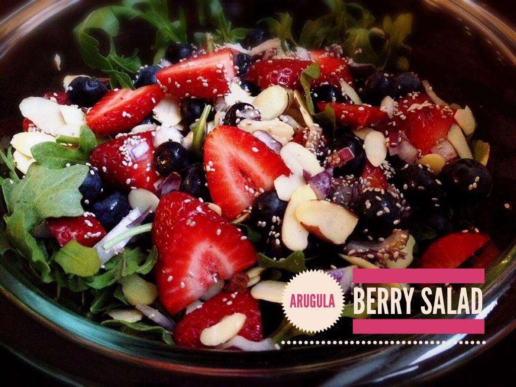 tristakite.com| Arugula Berry Salad
