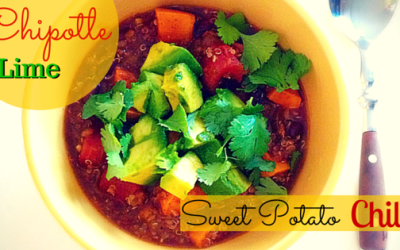 Chipotle Lime Sweet Potato Chili (Vegan)