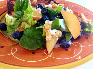 blueberry Nectarine Salad2