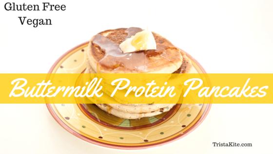 Buttermilk Protein Pancakes