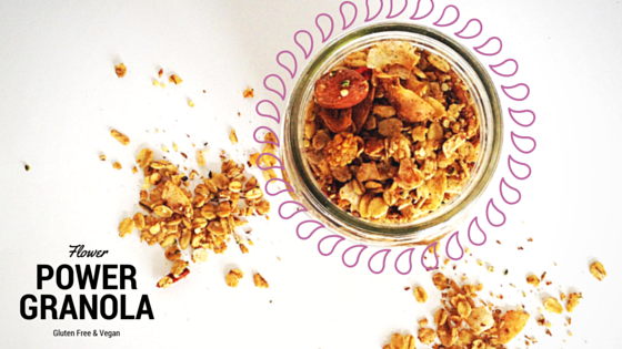 Flower Power Granola