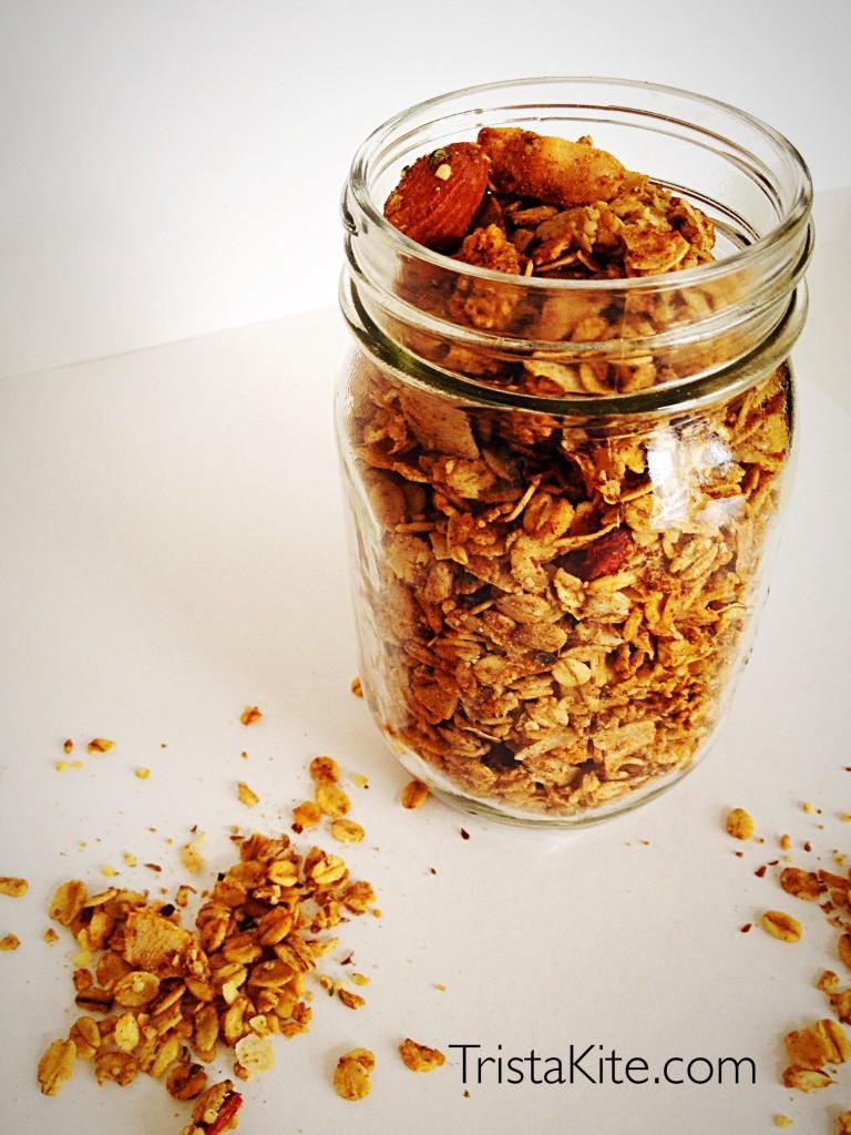 #granola #glutenfree #vegan #breakfast
