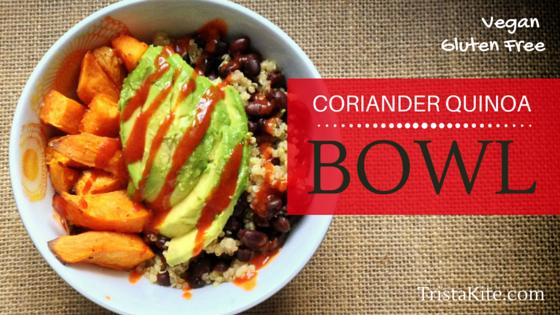 Coriander Quinoa Bowl